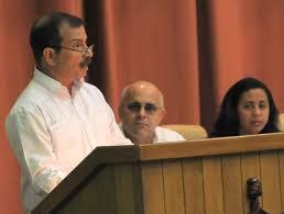 Fernando González Llort addresses the National Assembly