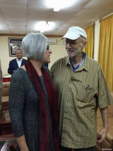 This photo from the Twitter account of Sen. Jeff Flake, R-Ariz. shows Alan Gross with his wife Judy before leaving Cuba, Wednesday, Dec. 17, 2014. The US and Cuba have agreed to re-establish diplomatic relations and open economic and travel ties, marking a historic shift in U.S. policy toward the communist island after a half-century of enmity. AP