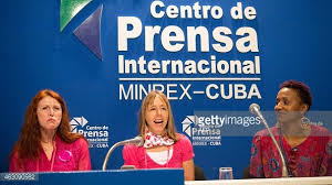 CODEPINK at their Havana press conference.