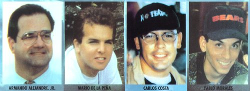 "The Cuban Five played a central role in the murder of four members of the humanitarian search-and-rescue group,  ""Brothers to the Rescue"" members"