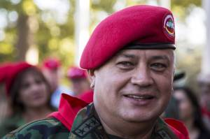 Diosdado Cabello, president of Venezuela's National Assembly, is a leading target of U.S. investigations into alleged drug trafficking and money laundering by senior officials in the South American nation, a Justice Department official said. Mr. Cabello has denied wrongdoing. Photo: Marco Bello/Reuters