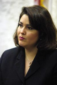 HECTOR GABINO/AP Ana Margarita Martinez won a $7.1 million judgment against the Cuban government for 'emotional distress' in 2001, after she found out her husband, Juan Pablo Roque, wasn't the man she thought he was.