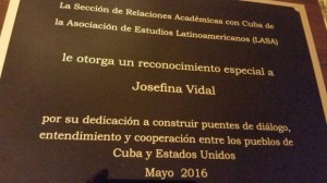 Vidal award