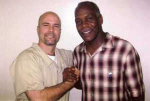 Glover With Convicted Spy Gerardo Hernández